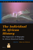 The Individual in African History