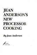 Jean Anderson s New Processor Cooking