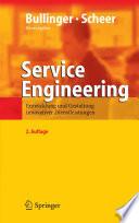 Service Engineering  : Entwicklung und Gestaltung innovativer Dienstleistungen