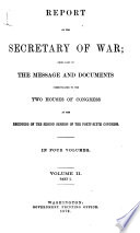 Annual Report of the Chief of Engineers to the Secretary of War for the Year