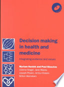 Decision Making in Health and Medicine with CD ROM Book
