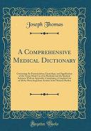 A Comprehensive Medical Dictionary