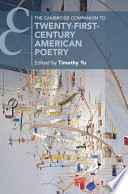 The Cambridge Companion to Twenty First Century American Poetry