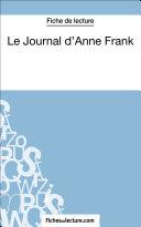 Le Journal d'Anne Frank (Fiche de lecture) Pdf/ePub eBook