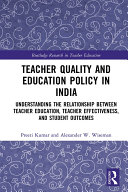 Pdf Teacher Quality and Education Policy in India Telecharger