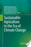 Sustainable Agriculture in the Era of Climate Change Book