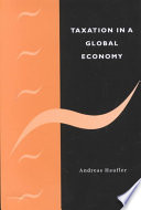 Taxation In A Global Economy Book PDF