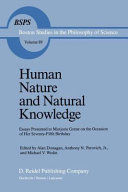 Human nature and natural knowledge: essays presented to Marjorie Grene on the occasion of her seventy-fifth birthday