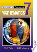 """""""New National Framework Mathematics 7 Core Pupil's Book"""" by M. J. Tipler, K. M. Vickers"""
