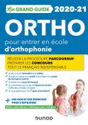 Pdf Mon Grand Guide Ortho 2020-21 pour entrer en école d'orthophonie Telecharger