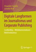 Digitale Langformen im Journalismus und Corporate Publishing