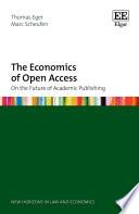 The Economics of Open Access
