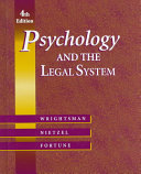 Psychology & the Legal System