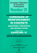Corrosion Of Reinforcement In Concrete Book PDF