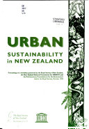 Urban Sustainability In New Zealand