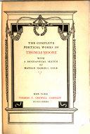 Pdf Thomas Moore's Complete Poetical Works