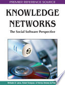 Knowledge Networks The Social Software Perspective Book PDF