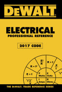 DEWALT Electrical Professional Reference - 2017 NEC