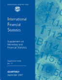 Ifs Supplement On Monetary And Financial Statistics September 2007 Epub  Book PDF