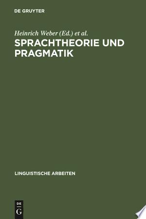[pdf - epub] Sprachtheorie und Pragmatik - Read eBooks Online