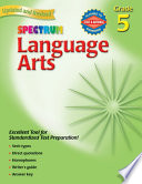 """Language Arts, Grade 5"" by Spectrum"