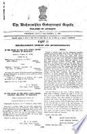 The Maharashtra Government Gazette