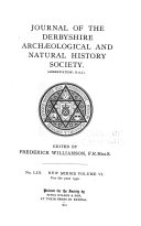 Journal of the Derbyshire Archaeological and Natural History Society