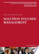Solution Focused Management