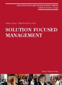 Solution-Focused Management