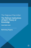 The Political Implications of Kant's Theory of Knowledge [Pdf/ePub] eBook