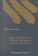 Death in Qoheleth and Egyptian Biographies of the Late Period