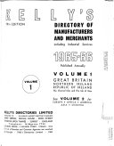 Kelly s Directory of Manufacturers and Merchants