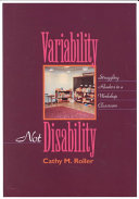 Variability  Not Disability Book