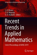 Recent Trends in Applied Mathematics Book