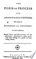 The Confessions Of Faith Catechisms Directories Form Of Church Government Discipline C Of Public Authority In The Church Of Scotland Together With The Acts Of Assembly Also A Collection Of Some Principal Acts And Ordinances Of The Parliaments Of Scotland And England To Which Is Added The Form Of Process In The Judicatories Of The Church Of Scotland Etc Book PDF