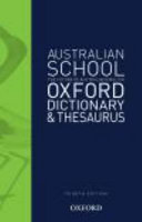 Cover of Australian School Dictionary and Thesaurus
