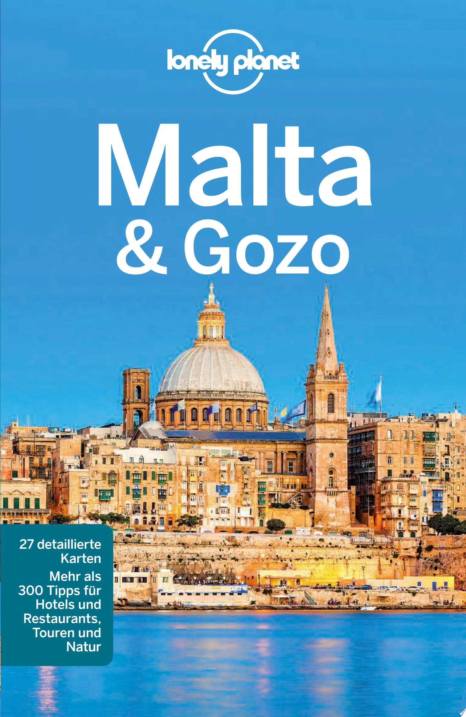 Lonely Planet Reisef  hrer Malta   Gozo