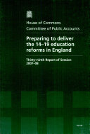 Pdf Preparing to Deliver the 14-19 Education Reforms in England