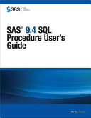 Sas 9 4 Sql Procedure User S Guide