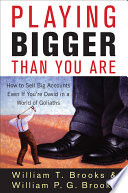Playing Bigger Than You Are Book