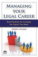 Managing Your Legal Career