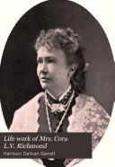 Life Work of Mrs. Cora L.V. Richmond