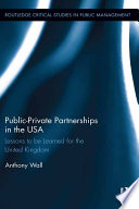 Public Private Partnerships In The Usa