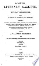Galignani's Literary Gazette