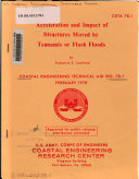 Acceleration and Impact of Structures Moved by Tsunamis Or Flash Floods