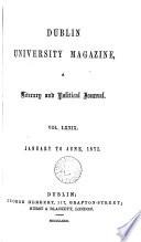 dublin university magazine
