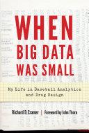 When Big Data Was Small