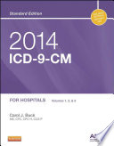 2014 ICD 9 CM for Hospitals  Volumes 1  2 and 3 Standard Edition   E Book