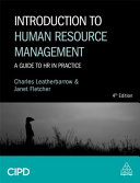 Introduction to human resource management : a guide to HR in practice.