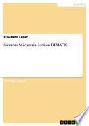 Siemens AG Austria Section DEMATIC
